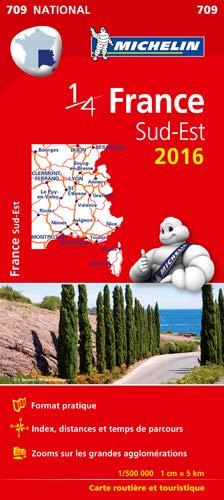 carte routière france sud est