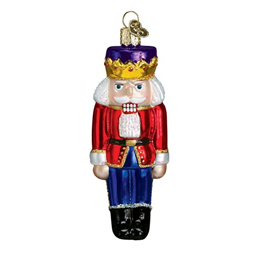 Old World Christmas Glass Blown Ornament with S-Hook and Gift Box, Decorations Collection (Nutcracker (Old World Christmas Nutcrackers)
