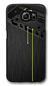 Cassette music dark tape drips Polycarbonate Hard Case Cover for Samsung S6/Samsung Galaxy S6 Black