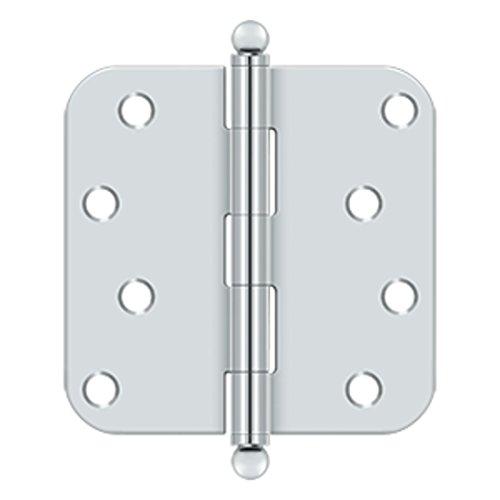 4 in. x 4 in. x 0.63 in. Radius Steel Hinge w Ball Tips - Pair (Set of 10) ()