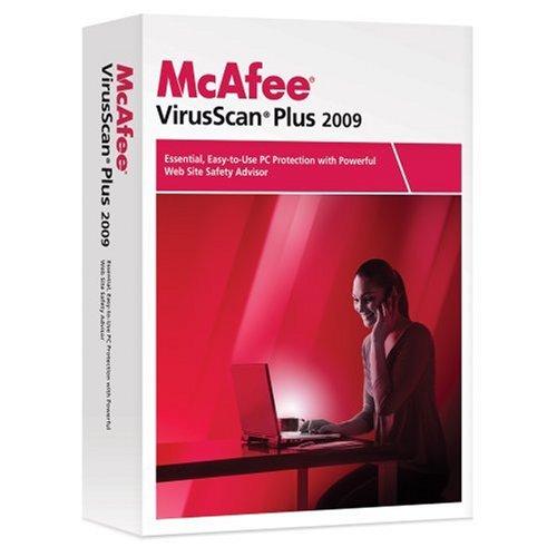 McAfee VirusScan Plus 2009 1-User [OLD VERSION]