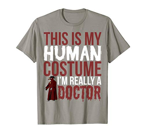 Witch Doctor Gift Funny T Shirt - This Is My Human Costume ()
