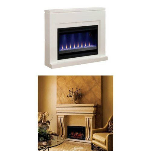 [Complete Set Contemporary Design Builders Mantel with 36