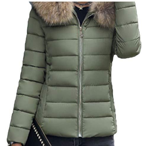EKU Women Winter Hooded Padded Jacket Down Coats Warm Parka Outwear 3