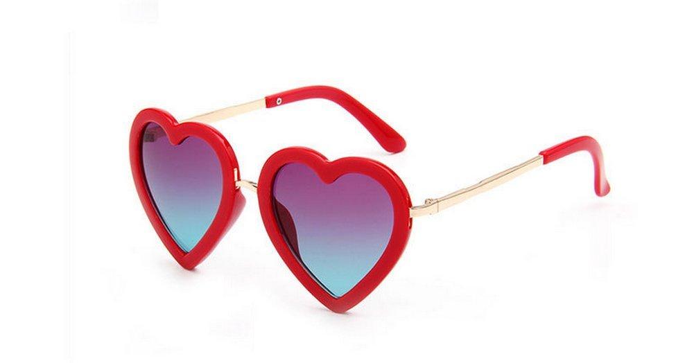 Chakil 1 piece Children Sunglasses LOVE Cute Lense Heart Shaped Sun Glasses Kids Boys Girls UV400 Sunglasses