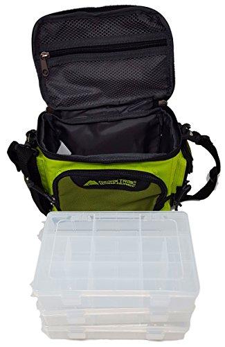 Ozark Trail Green Soft Sided Fishing Tackle Storage Bag