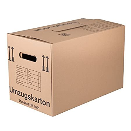 30 CAJAS DE MUDANZA Estándar - calidad: 1 ondulado, Caja de embalaje cajas de embalaje: Amazon.es: Bricolaje y herramientas