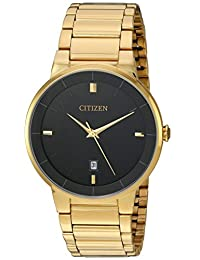 Citizen Men's BI5012-53E Wrist Watches, Black Dial
