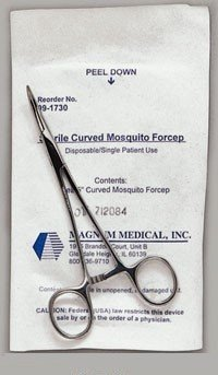 Hemostatic Forcep - 5'' Curved - Halsted Mosquito - Each