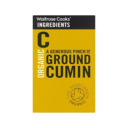 Cooks' Ingredients Organic Ground Cumin Waitrose 50g - Pack of 4 by Cooks' Ingredients