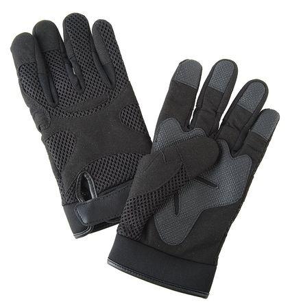 CONDOR 4HDK5 Anti-Vibration Gloves, Black, 2XL, Full