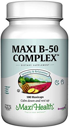 Vitamins Maxi B-complex (Maxi B-50 Complex)