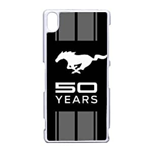 Ford Mustang logo_001 For Sony Xperia Z3 Cell Phone Case White pu1m0h_7582279