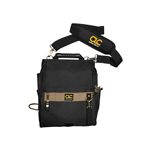 CLC Custom Leathercraft 1509 21-Pocket Zippered Professional Electricians Tool Pouch