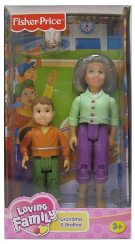 Grandma and Brother Loving Family Doll Play Set