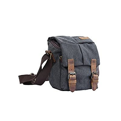 durable modeling Menschwear Mens Canvas Cross-body Bag Outdoor Bag Camera Bag