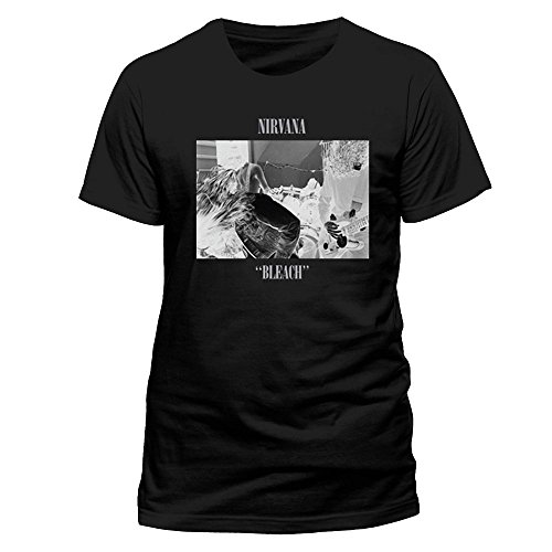 Nirvana Herren Band T-Shirt - Bleach Album Cover