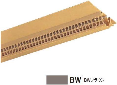 フクビ化学 軒天通気見切緑 SNV70-5 82×1820mm ブラウン 1箱40本価格 SNV75BW