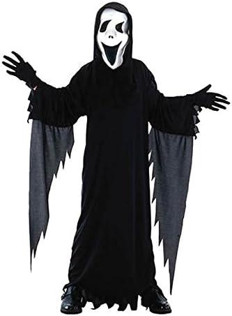 EL CARNAVAL Disfraz Tunica Scream niño Talla de 4 a 6 años: Amazon ...