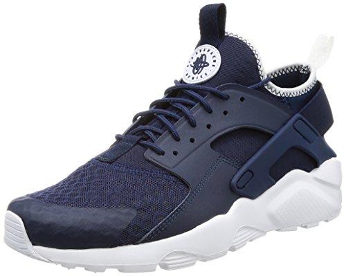 reputable site bec2a 6d1d3 Galleon - Nike Men s Air Huarache Run Ultra Midnight Navy Obsidian White  Running Shoe 10.5 Men US