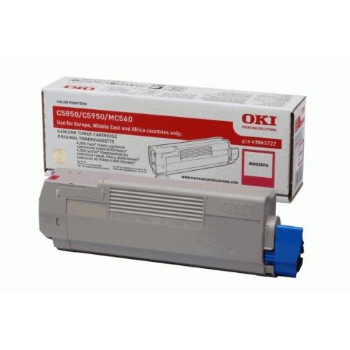 OKI Magenta toner for C5850/5950