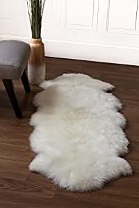 Amazon Com Super Area Rugs Genuine Australian Sheepskin