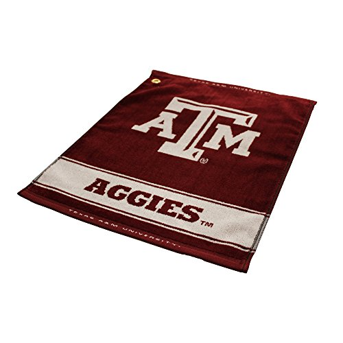 Texas A&m Aggies Woven Jacquard - NCAA Texas A&M Aggies Jacquard Woven Golf Towel