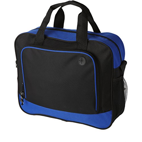 Bullet Barracuda Conference Bag (15.5 x 4.5 x 12.5 inches) (Solid Black/Blue)