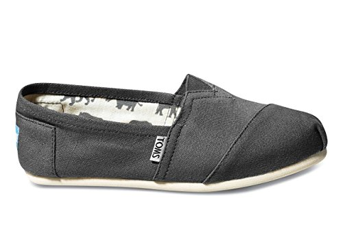 Toms Women's Classic Canvas Ash Slip-on Shoe – 6 B(M) US