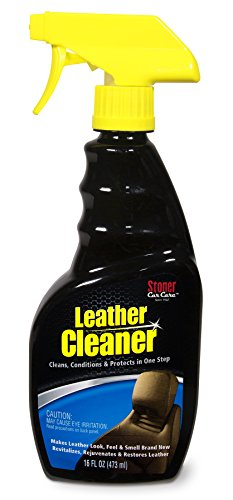 Stoner Car Care 95400 Leather Cleaner and Conditioner, Interior Car Care, 3-in-1 Car Leather Cleaner, Conditions and Rehydrates, 16-Fluid Ounces, Set of 1