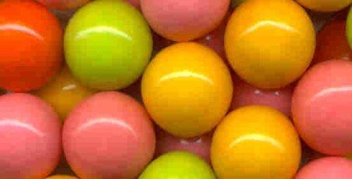 Neon Color Gumballs by Dubble Bubble ()