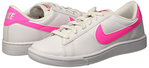 white Blanc Cassé Femme Orange team Tennis Baskets pink Nike Classic Blast black Wmns wnqRX404