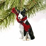 Bull Terrier Miniature Dog Ornament - Brindle