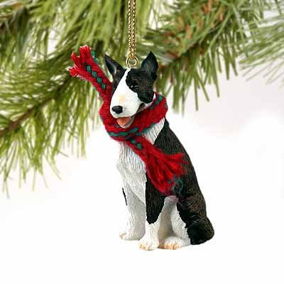Bull Terrier Miniature Dog Ornament -