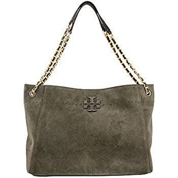 dad64b0c77eb Amazon.com  Tory Burch Marion Slouchy Shoulder Tote Black Leather ...