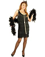 Charades Women's Fashion Flapper Dress
