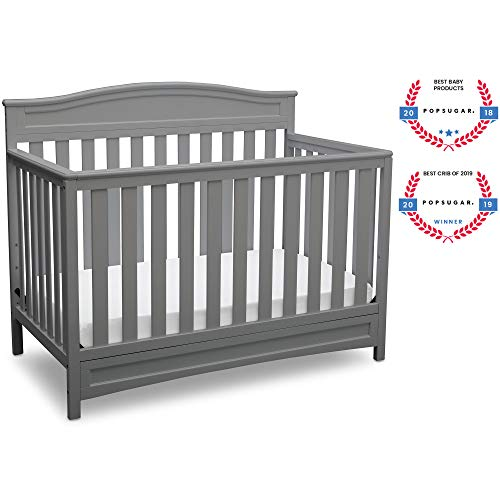 Delta Children Emery 4in1 Convertible Baby Crib Grey