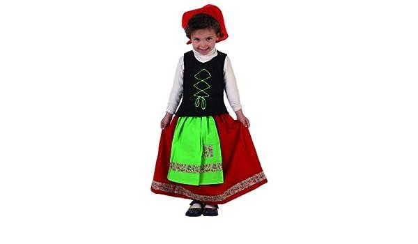 Atosa - Disfraz de folklore para niña, talla 12-24 meses ...