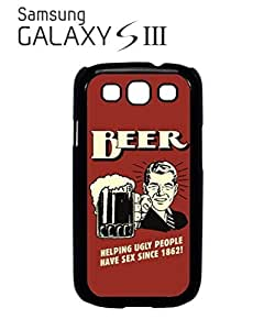 Beer Helping Ugly People Sex Mobile Cell Phone Case Samsung Galaxy S3 White