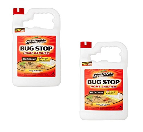 Spectracide Bug Stop Home Barrier, Indoor Plus Outdoor, 1-Gallon (2 Pack) (Bug Stop)