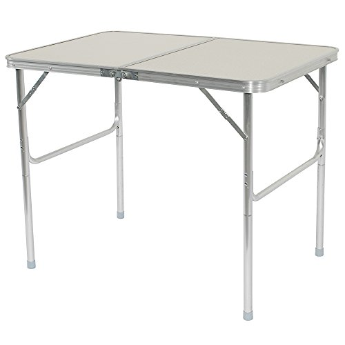 Festnight Folding Camping Table Portable Indoor Outdoor Rect