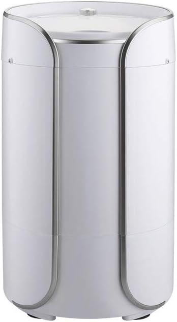 RMXMY Lavadoras Mini Lavadora, 2-en-1 Portable, Lavado semiautomático Máquina secador rotatorio con el Tubo de desagüe, de un cañón Desmontable Escurrir la Cesta (Color : B)