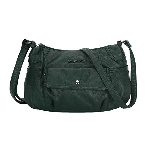 Green Dark Victory Small Purse for Crossbody Hynes Bag Traveler Women 1TSgnxHwq