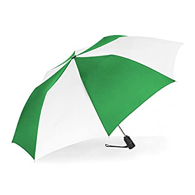 ShedRain Auto Open Compact Umbrella  Kelly Green   White 80%OFF ... d83d4a0c04