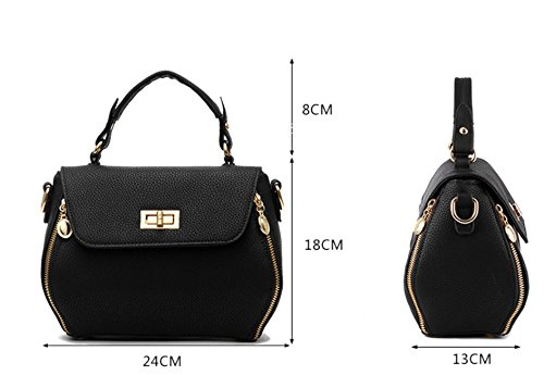 Otomoll Mode Frauen Shell Messenger Bags Schultertasche Pu Leder Mini Weiblich Umhängetaschen Handtaschen Totes