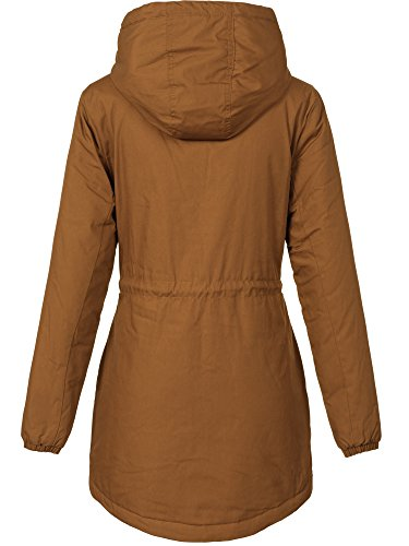 Sublevel Uni Femme Curry Manteau Brown AfqgOwRxf