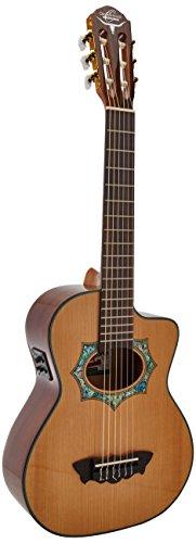 Oscar Schmidt OH30SCE Acoustic Electric Guitar, Requinto