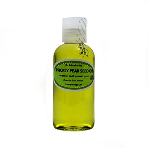 4 OZ PRICKLY PEAR SEED OIL BY DR.ADORABLE 100% PURE COLD PRESSED