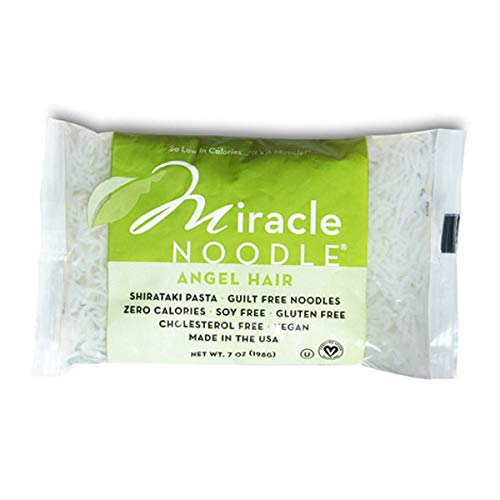 Miracle Shirataki Noodle (Angle Hair Pasta) (6 Pouches) Spring Special