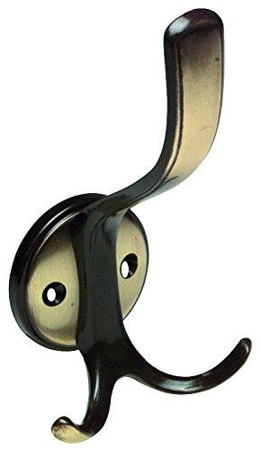 HSI Hat Hooks, 165x 85x 80mm Zamak Bronzed 509310